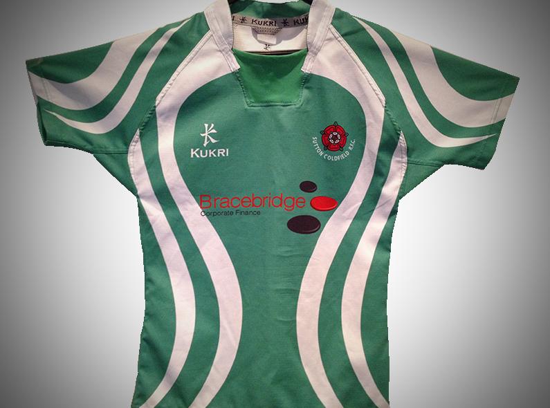 Bracebridge Corporate Finance Sponsor Sutton Coldfield under 13s rugby football club